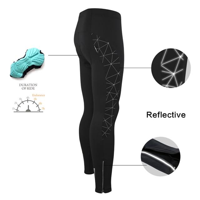 Santic roupas de ciclismo, roupas esportivas térmicas à prova de vento reflexivas para bicicleta, casaco e calças para ciclistas, tamanho asiático 5