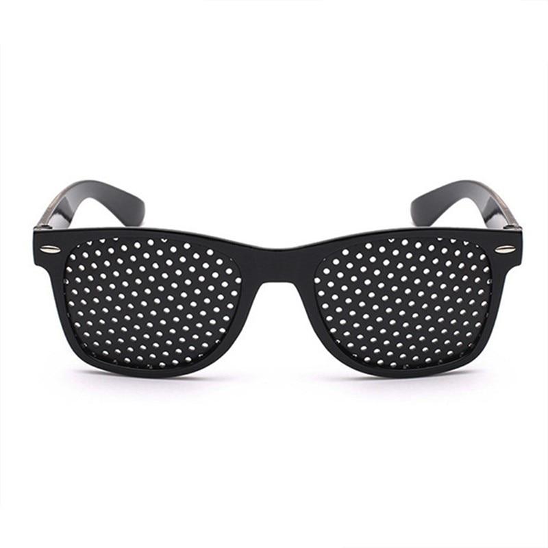 Adult Anti-myopia Astigmatism Amblyopia Correction Relief Fatigue Protection Pinhole Eyelet Glasses