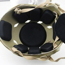 Portable EVA Helmet Pads Bike Motorcycle Padding Kit Tactical Protective Pad
