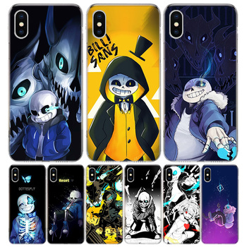 Undertale papyrus sans doggo Phone Case For Apple IPhone 11 12 Pro Mini XR X XS Max 7 8 6 6S Plus + 7G 6G 5 SE 2020 Luxury Patte image