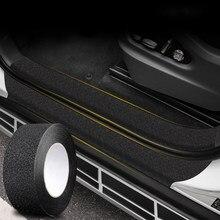 4 cores peva + acrílico carro adesivo protetor filme borda da porta de proteção tronco porta do carro peitoril corpo inteiro adesivo vinil acessório do carro