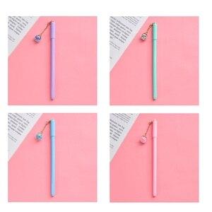 Image 5 - 32 Stks/partij Crystal Ball Pen Mini Wish Star Hanger Zwarte Kleur Pen Schrijven Leuke Briefpapier Gift Kantoor Schoolbenodigdheden A6791