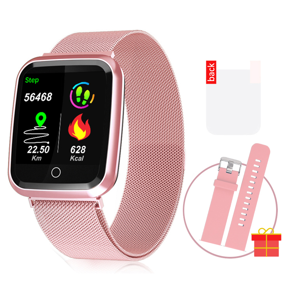 DAROBO N99 Sport and Heart rate monitor Smart watch with Waterproof Blood pressure monitor for men women available in Android IOS 4