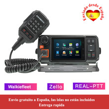 4G-W2Plus red 4G Radio Android 7,0 LTE WCDMA GSM walkie talkie con WIFI N60 trabajo Real ptt / Zello