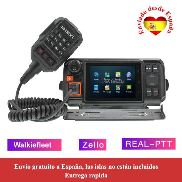 4G W2Plus 4G ağ radyo Android 7.0 LTE WCDMA GSM walkie talkie ile WIFI N60 çalışma gerçek ptt / Zello