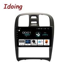 """Idoing 9 """"2.5D coche Android Radio reproductor Multimedia para Hyundai Sonata Fe 2003-2009 4G + 64G Octa Core GPS de navegación no 2din 3G"""
