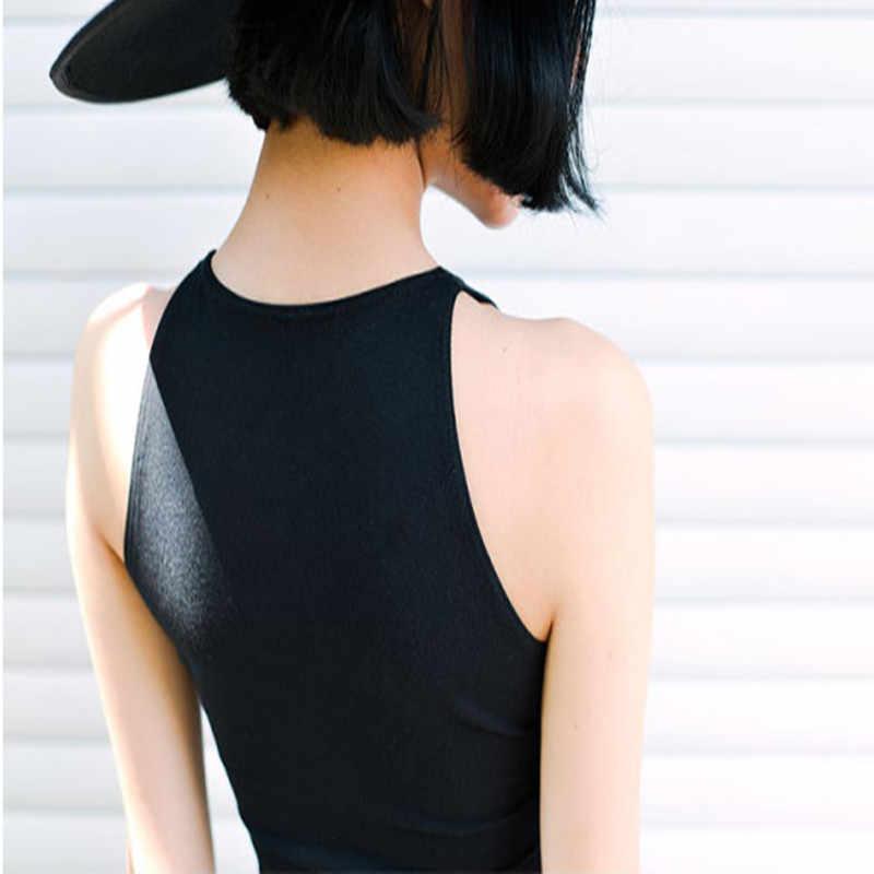送料無料女性の服ブランドのデザインタンク熱帯作物トップスセクシーなトップ tシャツ包帯トップタンクボディシャツ