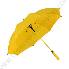 123cm anti-thunder fiberglass auto open windproof