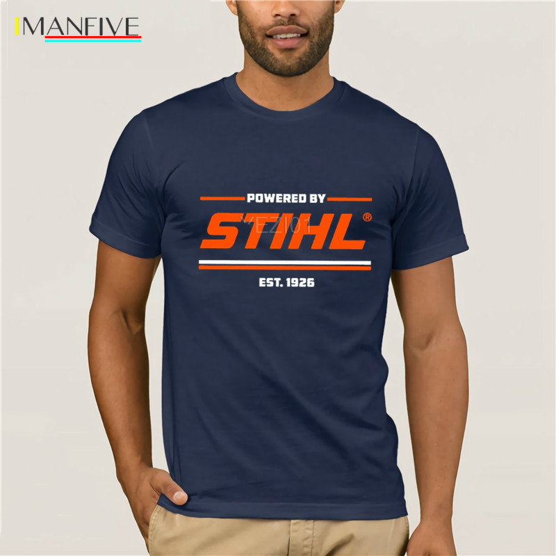 New Stihl Chainsaw T-Shirt Tree Trimmers Lumberjacks Mens Tshirt Mens Fashion Shirt Pullover Tee Classics