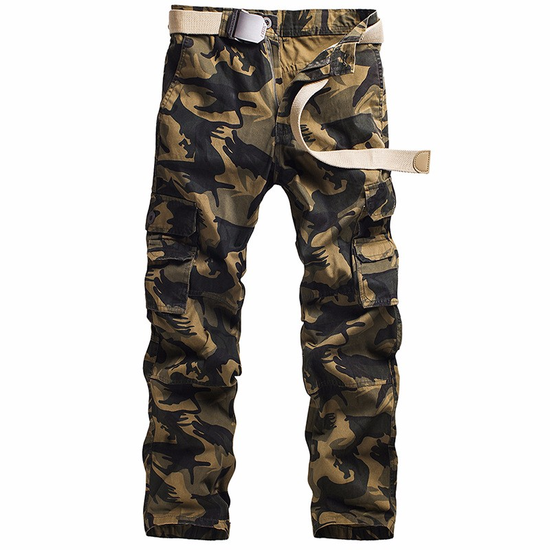 Camouflage Pocket Overalls Casual Pocket Sweatpants Overalls Work Pants Military Pants Military Pants Support Wholesale