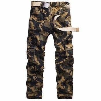 цена Camouflage pocket overalls casual pocket sweatpants overalls work pants military pants military pants support wholesale онлайн в 2017 году