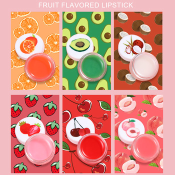 Nawilżający balsam do ust szminka smak owocowy Lipbalm temperatura zmieniona kolorowa szminka długotrwała odżywcza ochrona pielęgnacja ust makijaż tanie i dobre opinie Jedna jednostka CN (pochodzenie) 1PCS Krem nawilżający odżywczy inny CHINA GZZZ rozmiar próbki lip Balm C298 Color Ever-changing Lip Balm