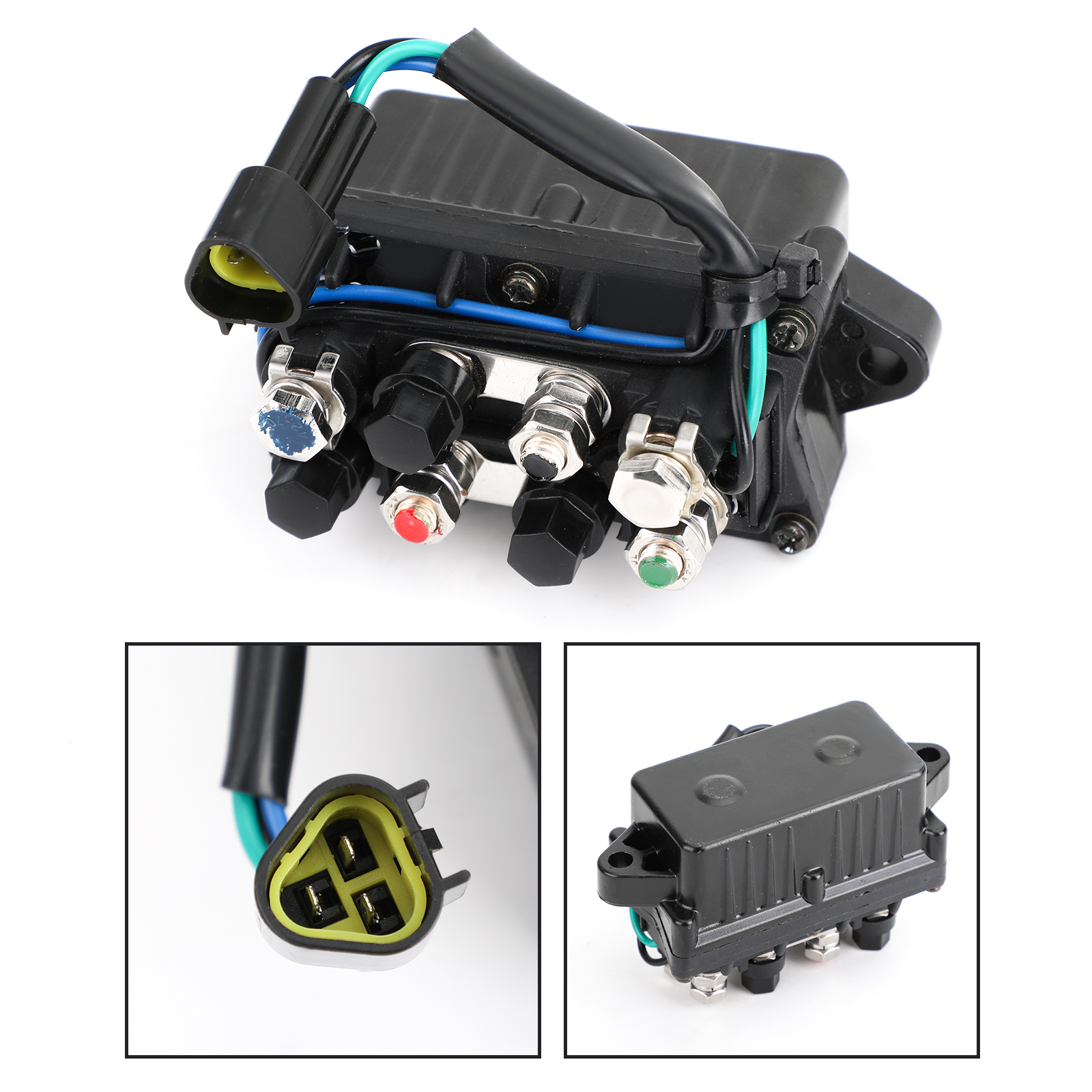 Trim /& Tilt Relay Fit For Yamaha 30-90hp OUTBOARD ENGINE Repl.#6H1-81950-00-00