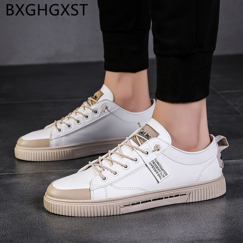 Summer Shoes Men White Luxury Men Shoes Leather Fashion Luxury Slip On Shoes Men 2020 Zapatos Hombre Casual Chaussure Homme Buty