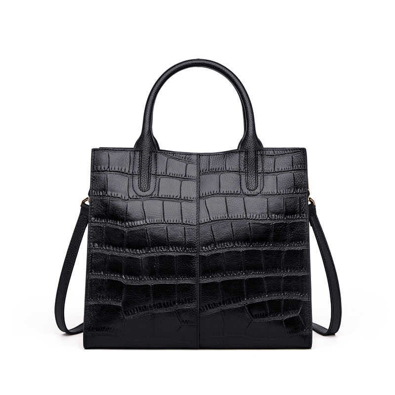 حقيبة يد نسائية من الجلد الأصلي للسيدات من OL Business موضة 2019 حقيبة يد جديدة فاخرة ذات تصميم أنيق وجودة جراب للسيدات # HS236
