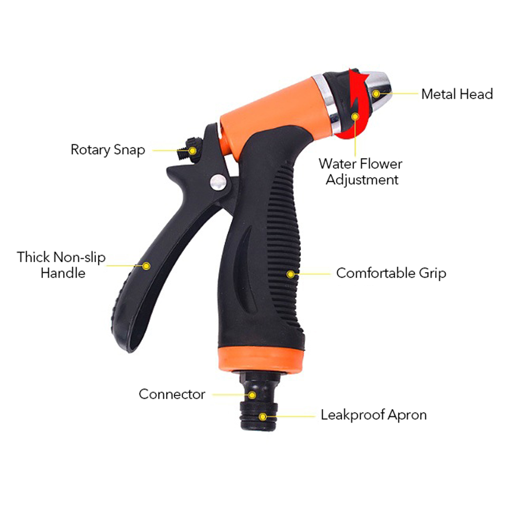 Image 5 - auto car Portable Water saving 12V Car Washer Pump High Pressure Cleaner Washing Machine Electric Cleaning Auto Device wash gun-in Water Gun & Snow Foam Lance from Automobiles & Motorcycles