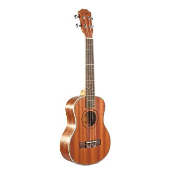 Tenor Acoustic Electric Ukulele 26 Inch Guitar 4 Strings Ukulele Handcrafted Wood Guitarist Mahogany metal guitar capo with bridge pin remover fit for acoustic electric guitar bass ukulele mandolin soprano concert tenor baritone