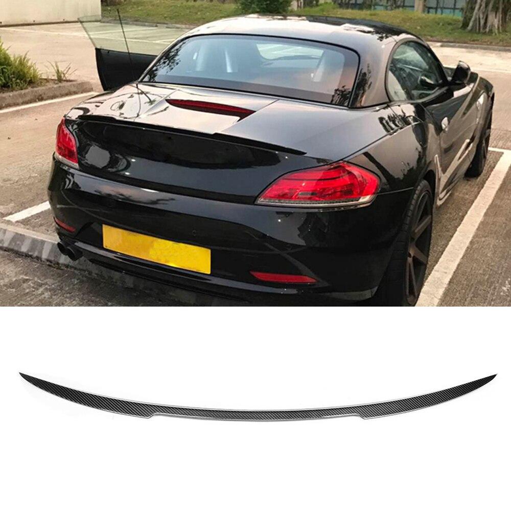 per BMW Z4 E89 20i 23i 28i 30i 35i 2 Door 2009-2012 Car Rear Trunk Esterna Coda Ala Decorazione Universale Modificata Bagagliaio Tetto Wing GLFDYC Auto Fibra di Carbonio Spoiler Posteriore