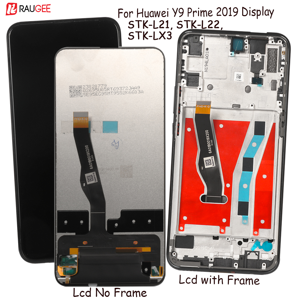 Display For Huawei Y9 Prime 2019 Lcd Display Touch Screen Replacement For Huawei STK-L21,L22,LX3 Display Tested Phone Lcds Parts