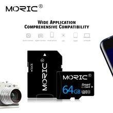 Cartão De Memória Micro SD TF MORIC Cartão 8 16 32 64 Microsd Flash de 128 256 GB Classe 10 8GB 16GB GB 64 32GB 128GB 256 GB para Smartphones
