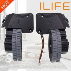 Koła części do robota odkurzającego akcesoria dla ilife A4 A4s A40 A8 T4 X430 X432 X431 odkurzacz robot koła silniki 1