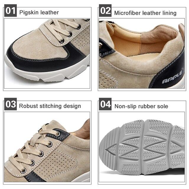 Фото мужские кроссовки из натуральной кожи на осень/зиму цена