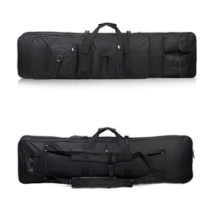 Image 3 - 85 96 120cm Nylon Gun Bag Case Rifle bag Backpack for Sniper Carbine Airsoft Holster Shooting Portable Bags Hunting Accessories