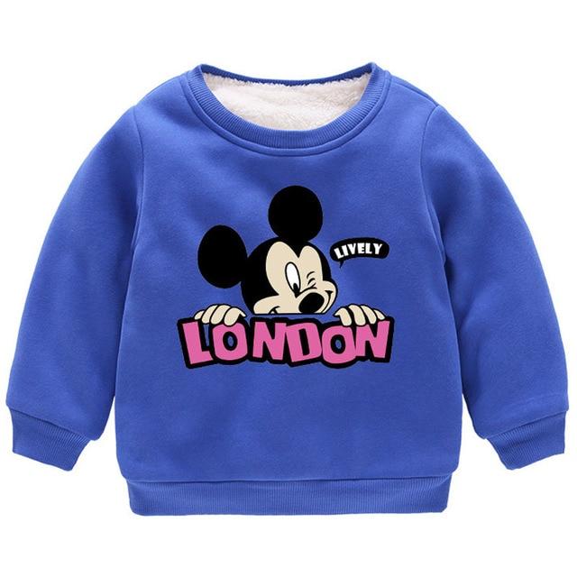Baby Boys Mickey Hoodies...
