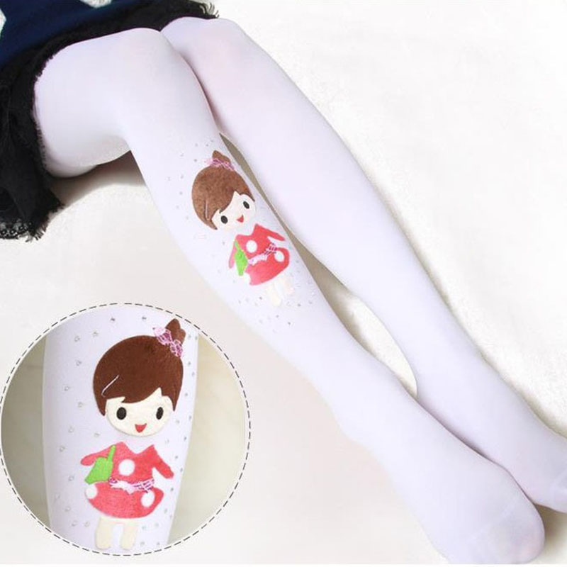 Baby Tights For Girls Cartoon Girls Tights Christmas Clothing Girls Stockings Children Pantyhose Autumn Spring Kids Tights