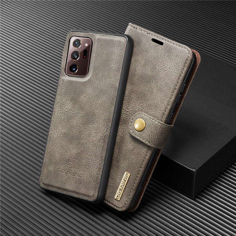 Magnetc Leather Case For Samsung Galaxy Note 20 Ultra 10 Lite S21 S20 FE S10 S9 S8 Plus S7 A21S A51 A71 Wallet Card Cover Coque