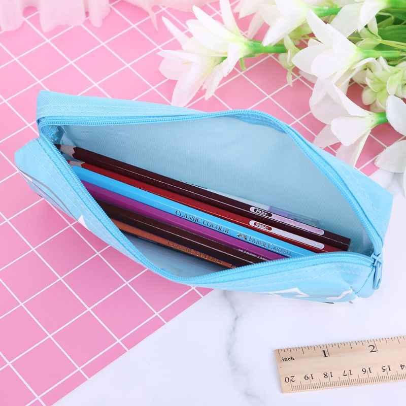 Notas de música Piano teclado lápiz estuche bolígrafo de gran capacidad bolsas papelería oficina