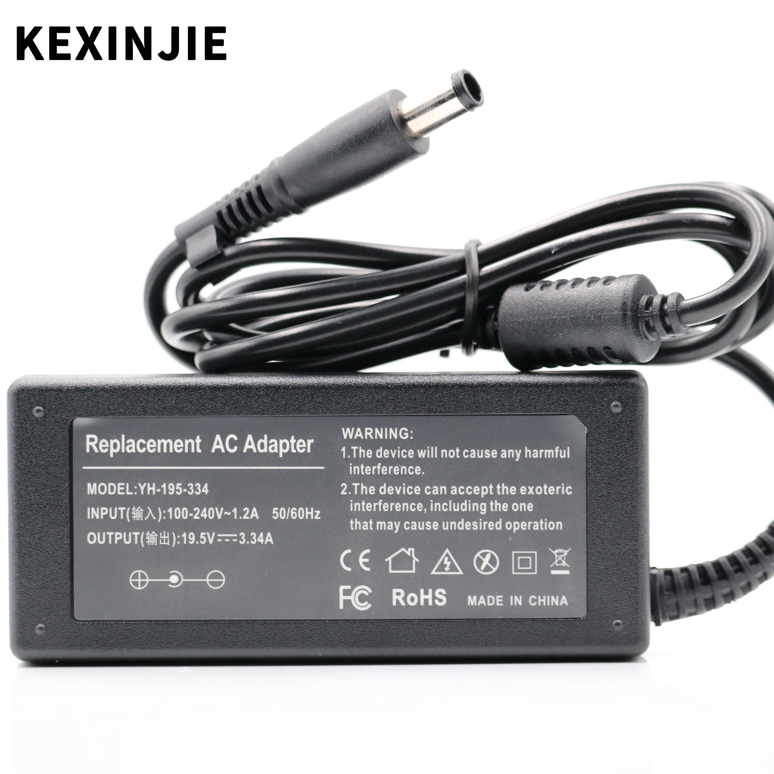 65W 19.5V 3.34A For Dell Inspiron 15 1750 1545 1525 6000 8600 PA12 XPS M1330 PA-12 AC Laptop Adapter Charger Power Supply