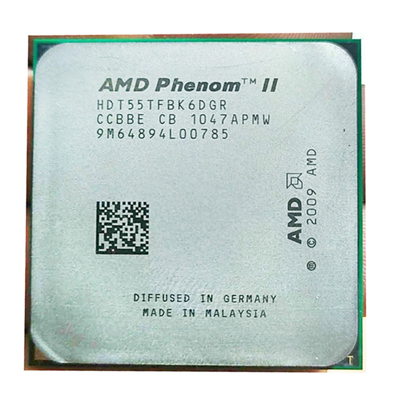 AMD Phenom II X6 1055T 2.8Ghz/ 6M /125W Six-Core Socket AM3/AM2+ 938 Pin CPU Processor  Free Shipping