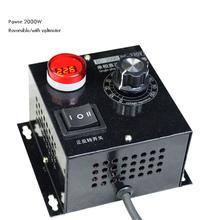 Motor-Speed-Controller Reverse-Switch Voltmeter Display Digital 2000W 220V with DC And