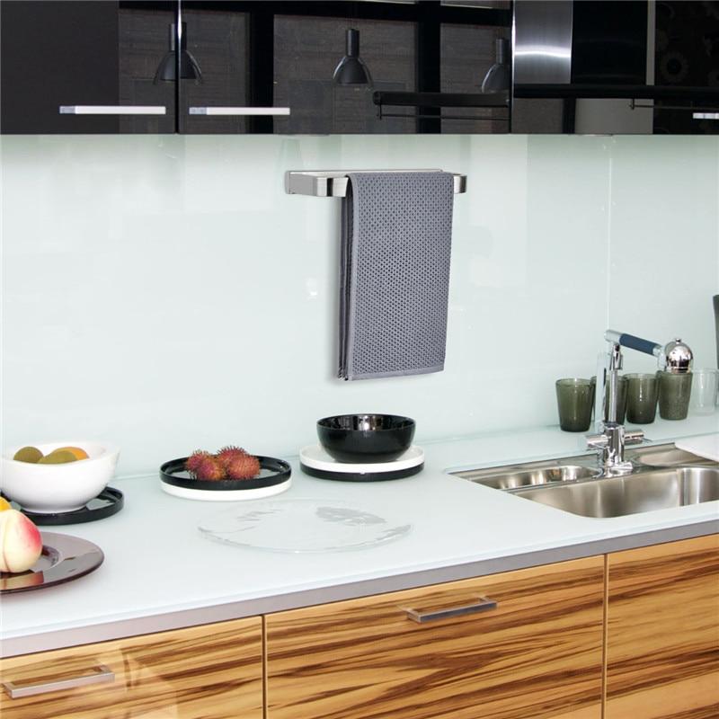 Ванная настенная нержавеющая сталь полотенце держатель дом туалет кухня хранение штанга