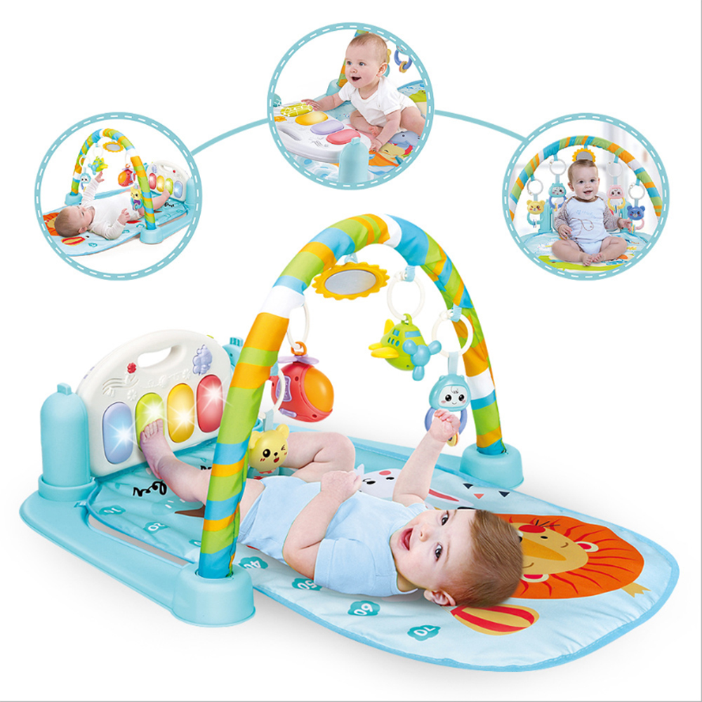 Baby Mat Carpet Musical Piano Early Learning Activity Gym Puzzle Kids Infantile Soft Pad Floor Game Creeping Developmental Toy