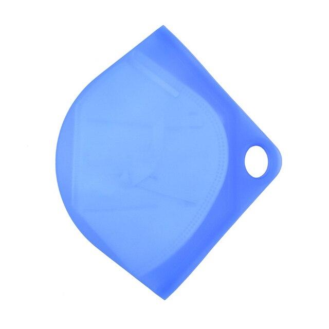 1pcs Portable Food-grade Silicone N95 Mask Storage Clip Case Face Masks Container Flexibility Storage Organizer 1
