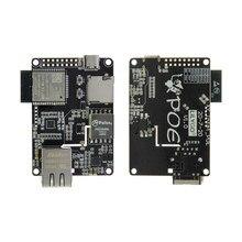LILYGO®Ttgo t-internet-poe ESP32-WROOM lan8720a chip ethernet adaptador e placa de expansão downloader programável