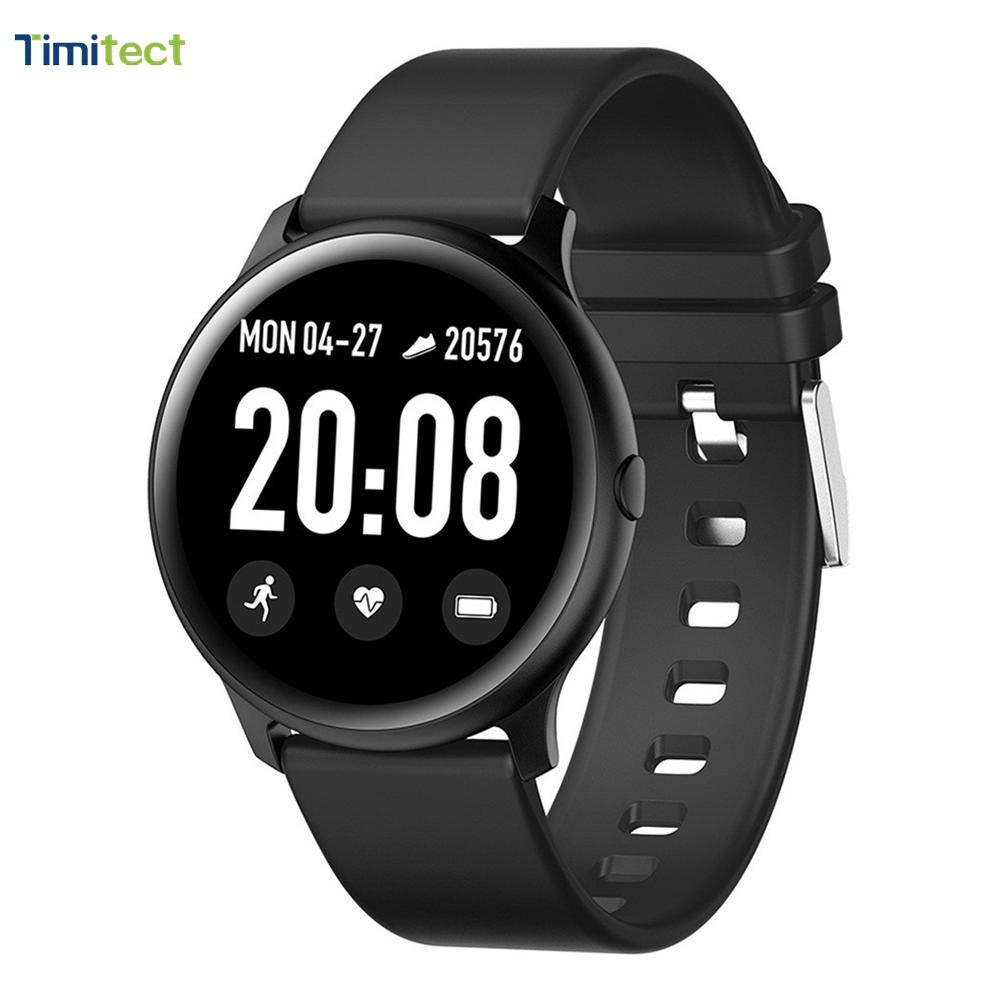 <font><b>KW19</b></font> <font><b>Women</b></font> <font><b>Smart</b></font> <font><b>watch</b></font> Waterproof Blood oxygen Heart rate monitor Men sport smartwatch for IOS and Android image