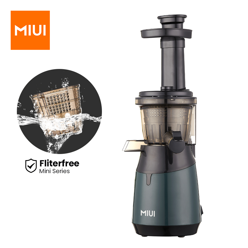 MIUI Mini Slow Juicer Screw Cold Press Extractor Patented Filter Free Technology 2021 Electric Fruit & Vegetable Juicer Machine