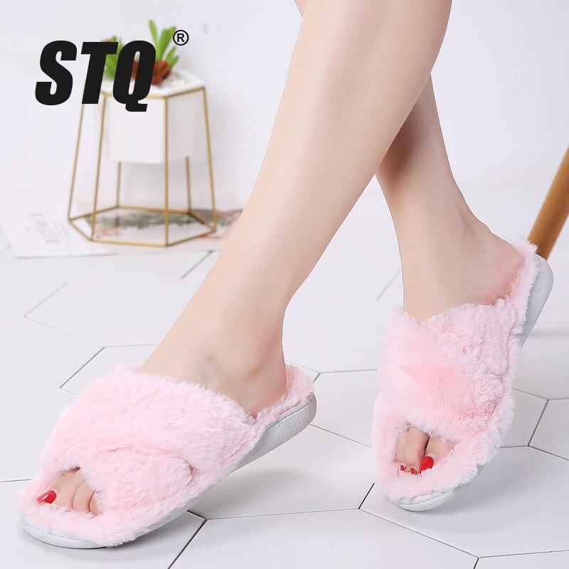 STQ Home Slippers Women Indoor Slippers