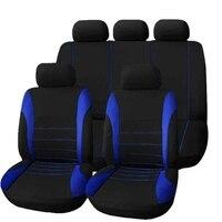 9 PCS Four Seasons Universal Seat Cover Cushion Car Fur Seat Covers Set Universal Cushion