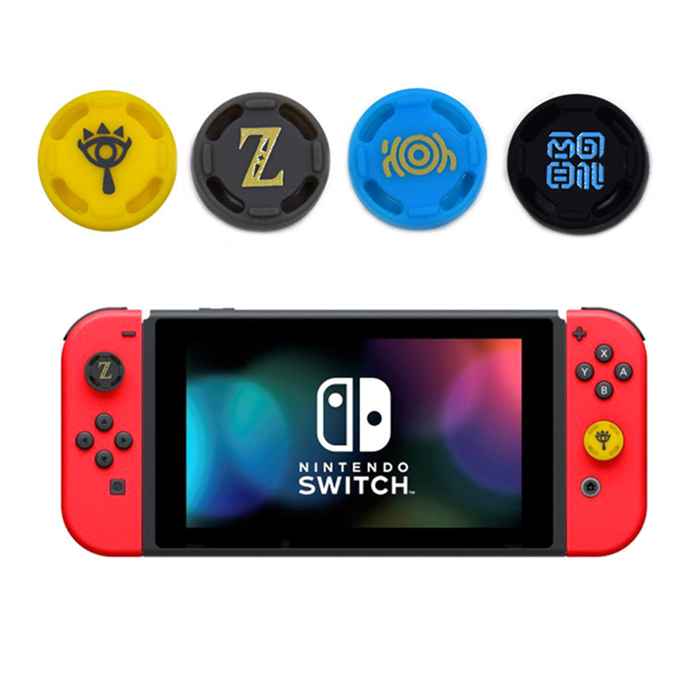 2PCS Silicone Analog Thumb Stick Grips Caps for Nintend Switch NS JoyCon Controller Sticks Cap Skin for Switch Lite Joy-Con