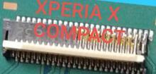 2 unids/lote nuevo conector FPC original de pantalla LCD para SONY Xperia X COMPACT F5321 en la placa base