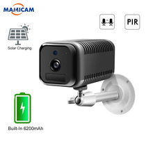 Wifi Camera Power-Charging Rechargeable-Battery Surveillance Security Solar Wireless
