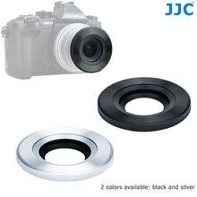 JJC Auto Lens Cap for Olympus M.ZUIKO DIGITAL ED 14 42mm f/3.5 5.6 EZ or 17mm f/2.8  for Panasonic G Vario12 32mm f/3.5 5.6 ASPH
