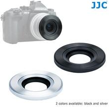 JJC automatyczna osłona obiektywu do Panasonic G Vario 12 32mm f/3.5 5.6 ASPH, Olympus M.ZUIKO DIGITAL ED 14 42mm f/3.5 5.6 EZ zastępuje LC 37C