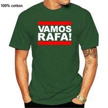 Vamos Rafa! Rafa nadal tênis argila francês espanha espanhol t camisa legal casual orgulho t camisa masculina unissex moda tshirt
