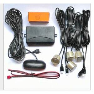 Image 3 - Parktronic LED capteur de stationnement automatique pour voiture, avec 4 capteurs, détecteur de sonnerie de recul, moniteur Radar de rechange pour stationnement