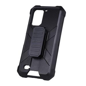Image 4 - Multifuncional caso protetor para ulefone armadura 7 7e original tpu preto para ulefone armadura 7 7e com clipe de volta mosquetão